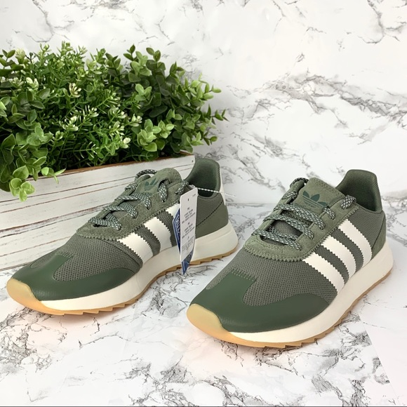 adidas Shoes | Olive Green Sneakers